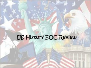 US History EOC Review