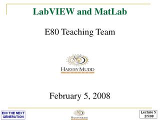 LabVIEW and MatLab