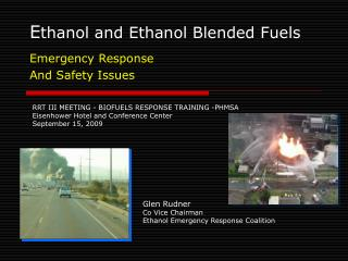 E thanol and Ethanol Blended Fuels