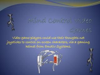 Mind Control Video Games