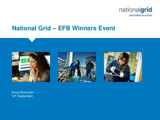 National Grid – EFB Winners Event