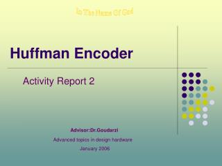 Huffman Encoder