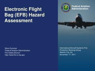 Electronic Flight Bag (EFB) Hazard Assessment
