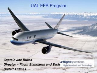 UAL EFB Program