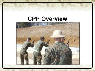 CPP Overview