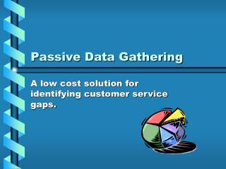 Passive Data Gathering