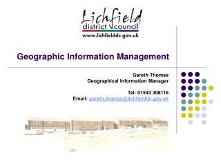 Geographic Information Management