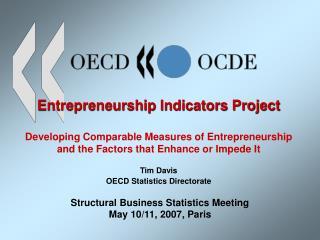 Entrepreneurship Indicators Project