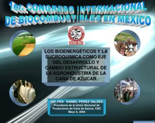 1er. CONGRESO INTERNACIONAL DE BIOCOMBUSTIBLES EN MEXICO
