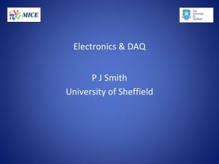Electronics & DAQ