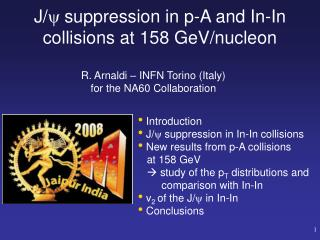 J/   suppression in p-A and In-In collisions at 158 GeV/nucleon