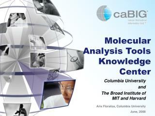 Molecular Analysis Tools Knowledge Center