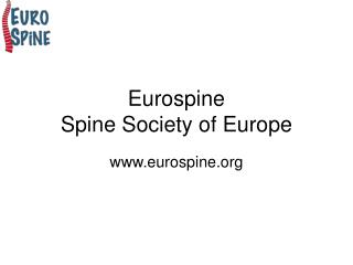 Eurospine Spine Society of Europe