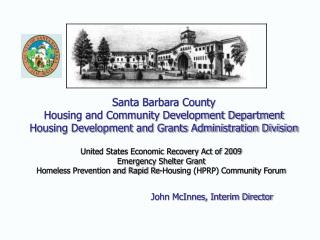 United States Economic Recovery Act of 2009 Emergency Shelter Grant