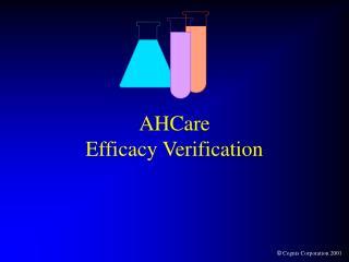 AHCare  Efficacy Verification