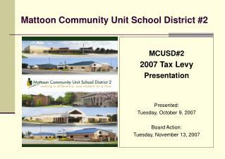 Mattoon Community Unit School District #2