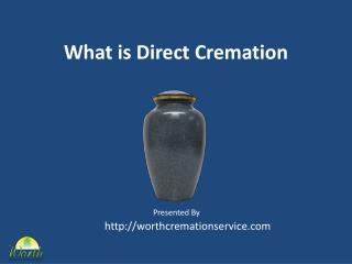what is direct cremation?