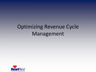 Optimizing Revenue Cycle Management