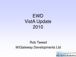 EWD VistA Update 2010
