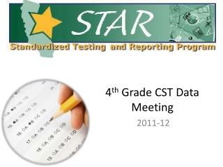 4 th  Grade CST Data Meeting