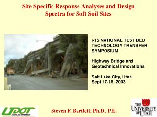 Site Specific Response Analyses and Design Spectra for Soft Soil Sites