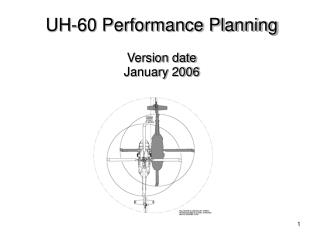 UH-60 Performance Planning Version date January 2006