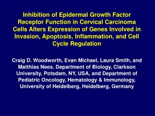 The Epidermal Growth Factor Receptor (EGF-R) is a Membrane Tyrosine Kinase