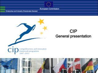 CIP General presentation