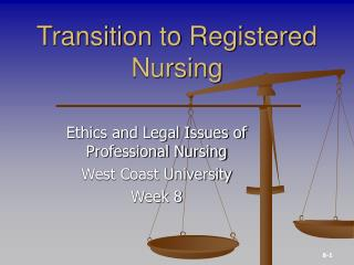 Transition to Registered Nursing