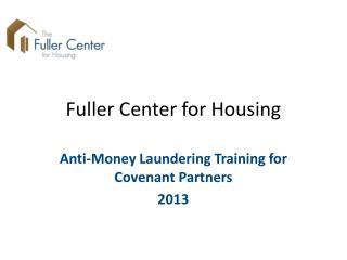 Fuller Center for Housing
