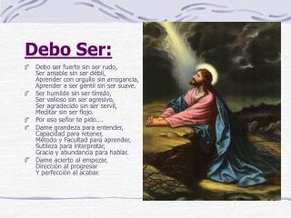 Debo Ser: