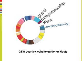 GEW country website guide for Hosts