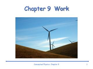 Chapter 9  Work