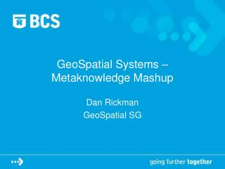 GeoSpatial Systems – Metaknowledge Mashup