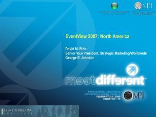 EventView 2007: North America