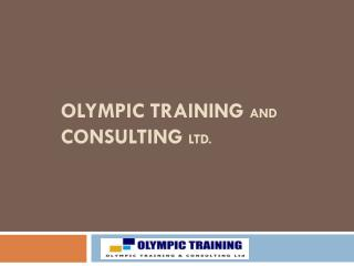 OLYMPIC TRAINING  AND  Consulting  ltd.