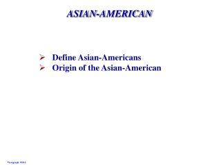 ASIAN-AMERICAN