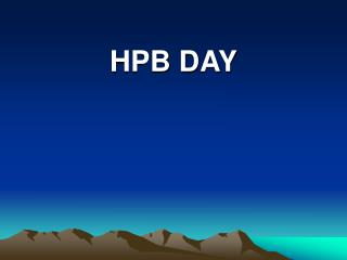 HPB DAY