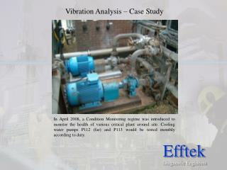Vibration Analysis � Case Study