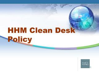 HHM Clean Desk Policy