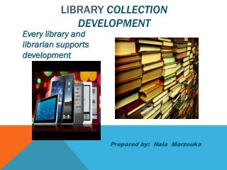 Library  Collection development