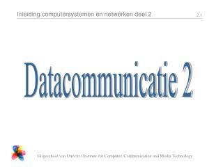 Datacommunicatie 2