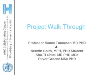 Project Walk Through
