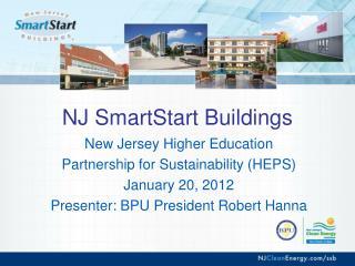 NJ SmartStart Buildings