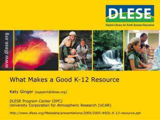 What Makes a Good K-12 Resource