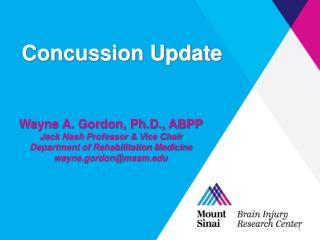 Concussion Update