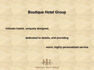 Boutique Hotel Group
