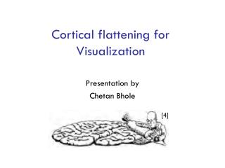 Cortical flattening for Visualization