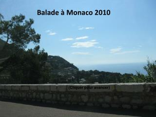 Balade à Monaco 2010