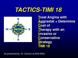 TACTICS-TIMI 18
